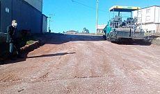 Hereke'ye bin ton asfalt daha