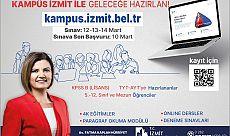İzmit Belediyesinden on binlerce öğrenciye KPSS, YKS ve LGS kursu