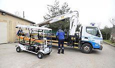 Büyükşehir'den KOÜ'ye 2 elektrikli ambulans aracı