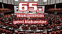 65. Hükümetin yeni bakanları