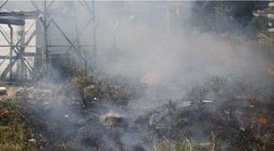 Yarmca'da korkutan yangın