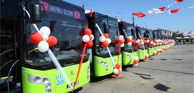Yeni otobüsler yola çıkıyor