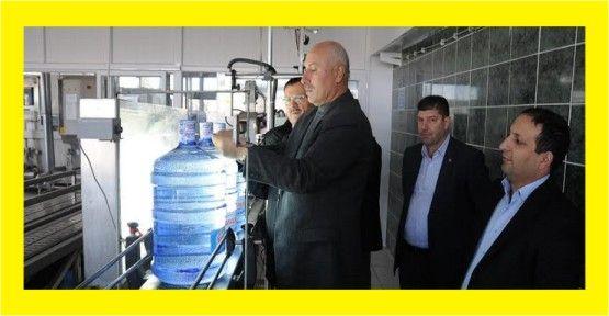 Yuvacık su yüksek hijyen standartlarında üretim yapıyor